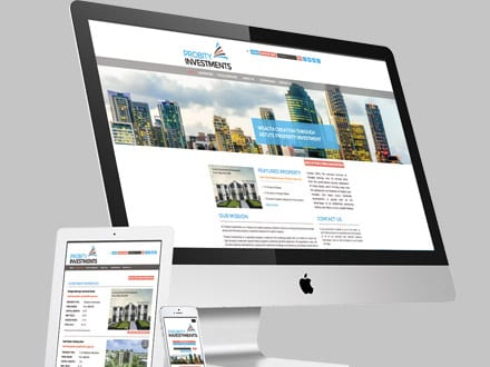 Probity Investments Website Design