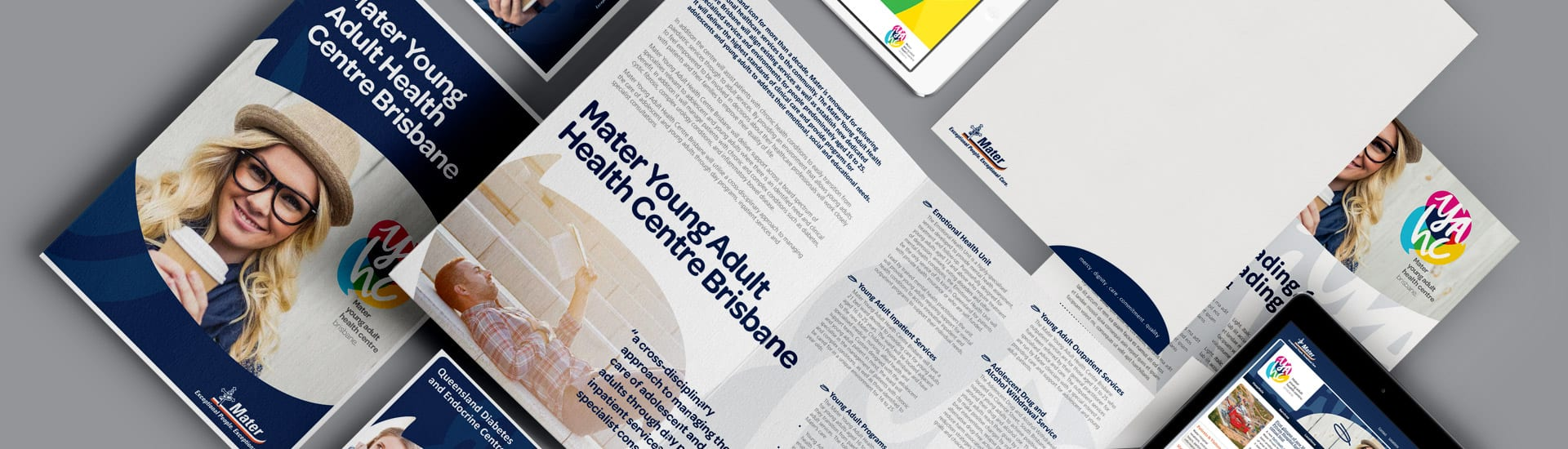 Mater Young Adult Health Centre Brand Development
