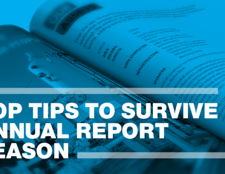Top tips to survive Annual Report Season