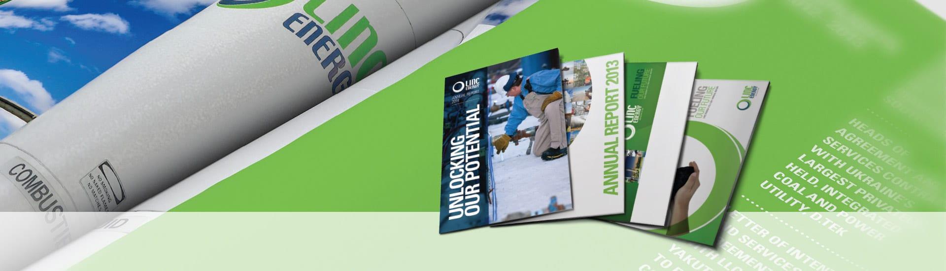 Linc Energy Annual Report Design