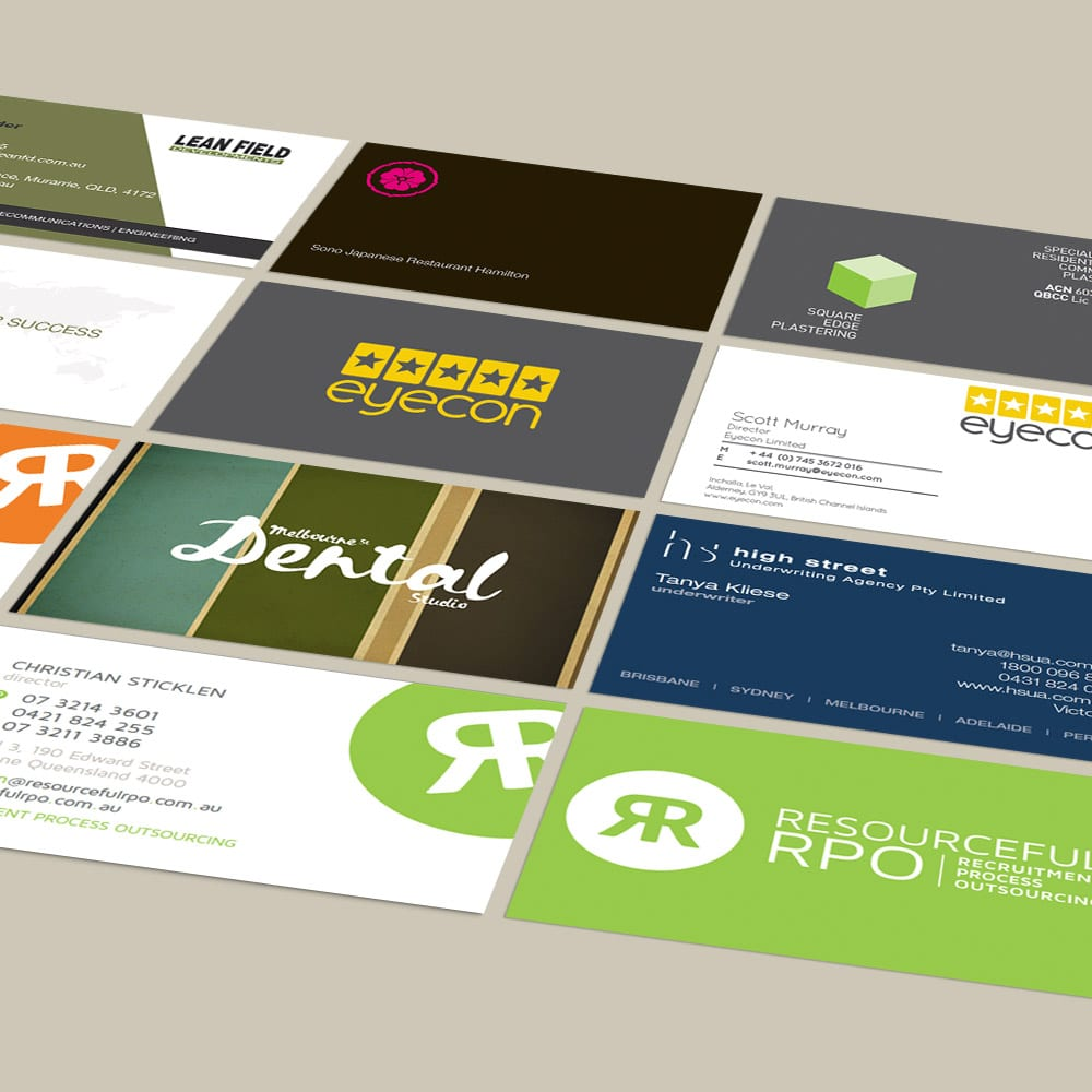 Finding the right business card design the room business cards template reheart Choice Image