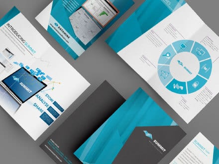 CAE Brochure Design