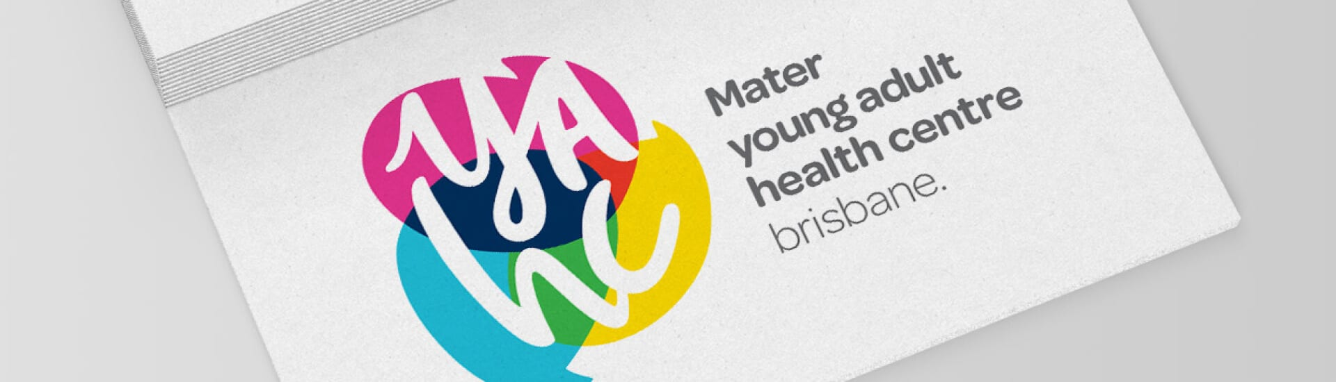 Mater Young Adult Health Centre Logo Design